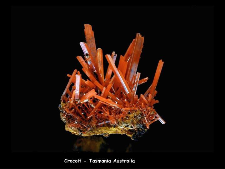 Crocoit - Tasmania Australia