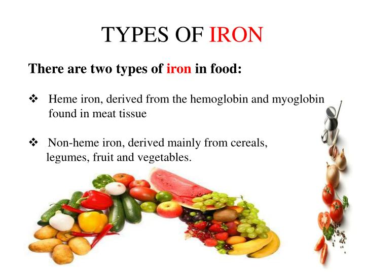 Types Of Iron ~ Ppt role of iron in human health powerpoint presentation