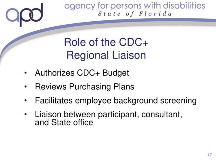 Role of the CDC+