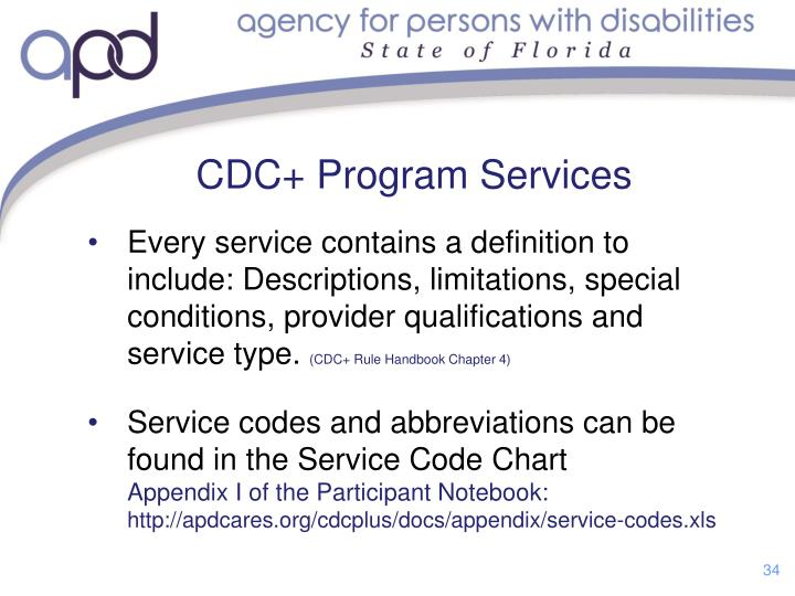 CDC+ Program Services