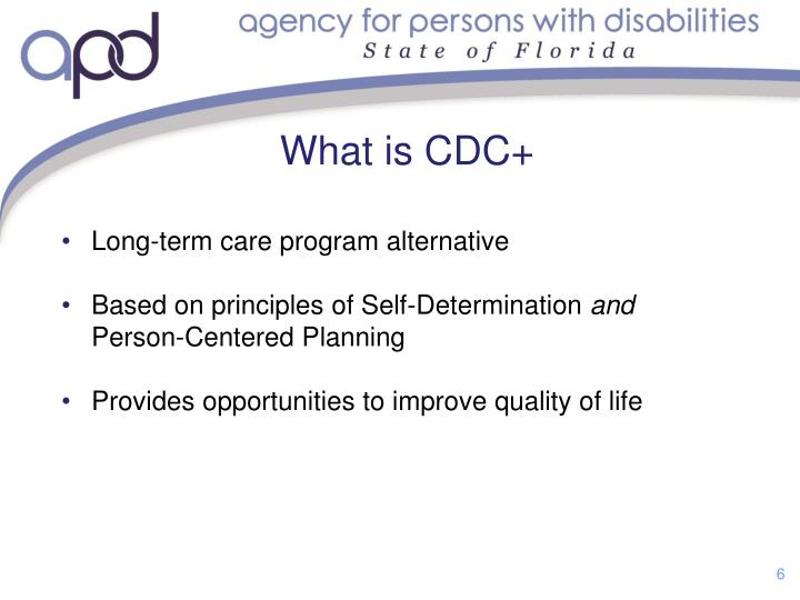 What is CDC+