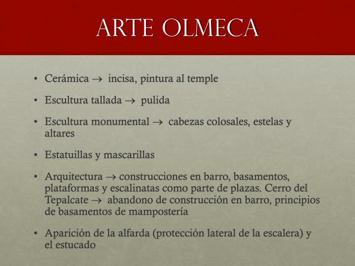 ARTE OLMECA