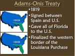 adams onis treaty