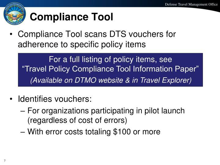 Compliance Tool