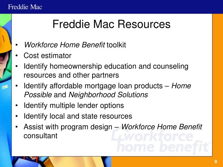 Freddie Mac Resources