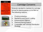 cartridge concerns