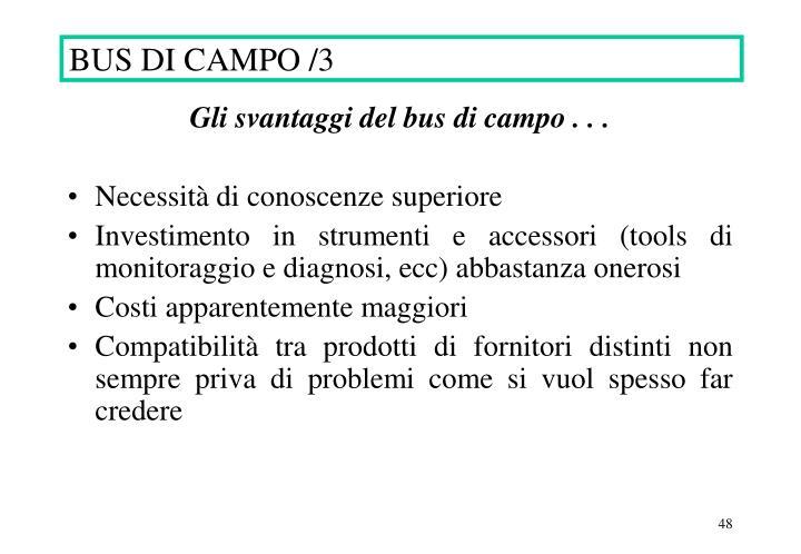 BUS DI CAMPO /3