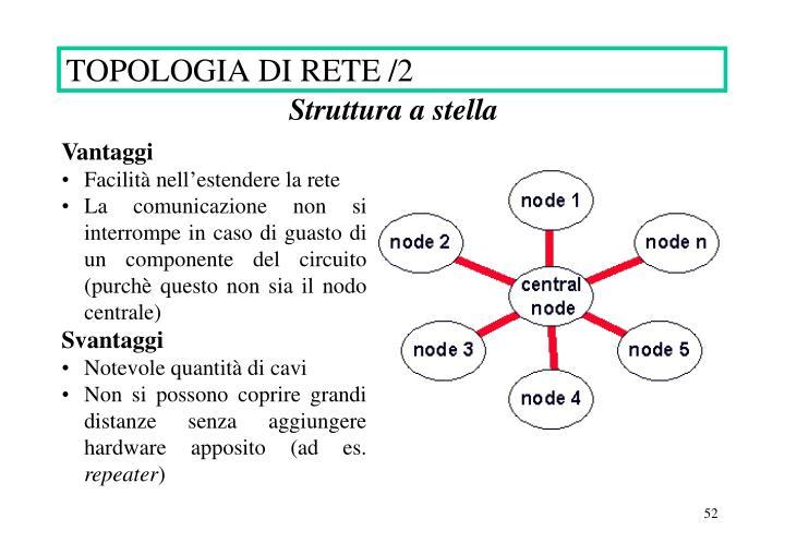TOPOLOGIA DI RETE /2
