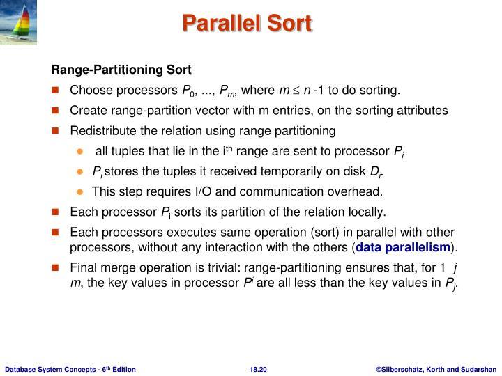 Range-Partitioning Sort
