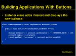 building applications with buttons3
