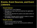 events event sources and event listeners1