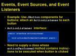 events event sources and event listeners2