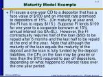 maturity model example