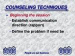 counseling techniques2
