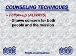 counseling techniques7