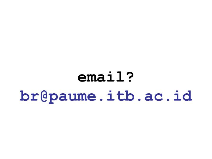 email?