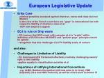 european legislative update2
