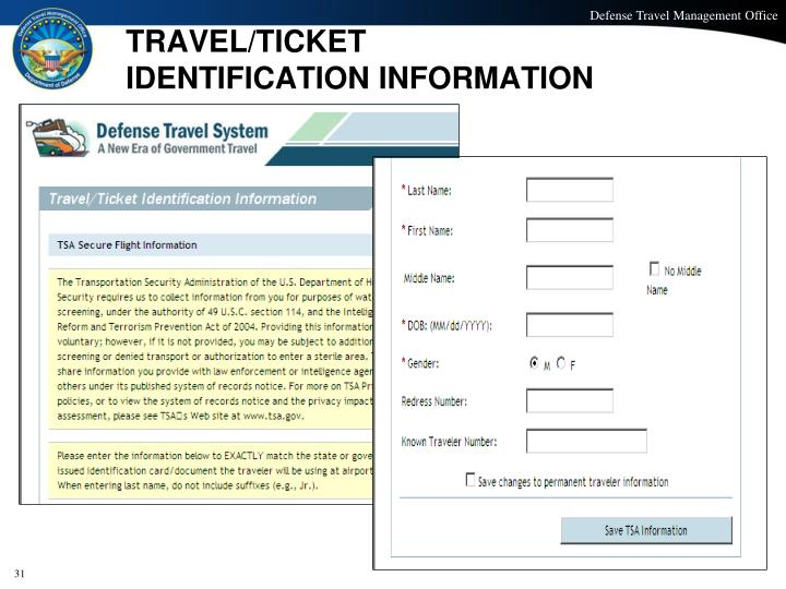 TRAVEL/TICKET