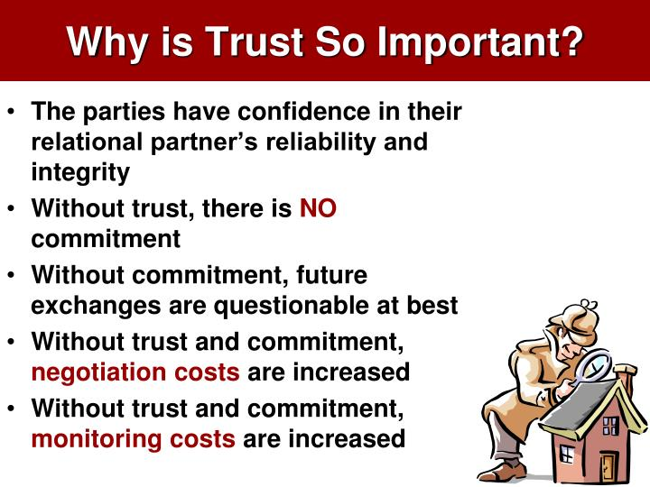 Why is Trust So Important?