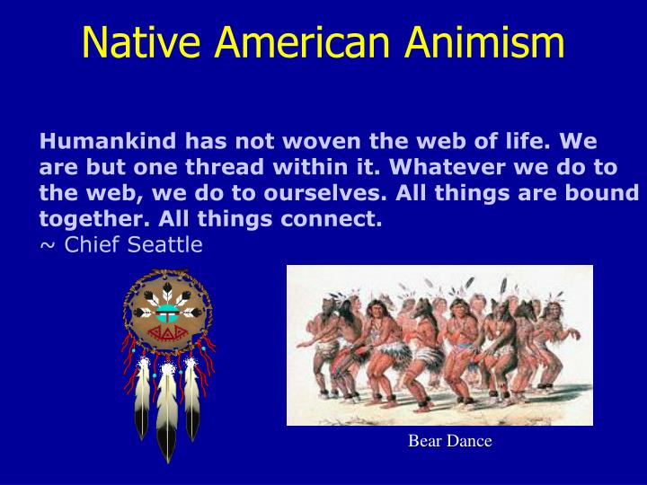 Native American Animism