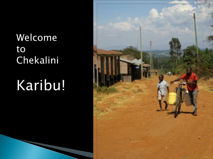 Welcome to Chekalini
