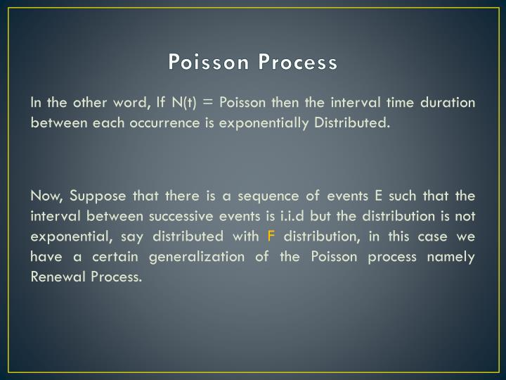 Poisson process1