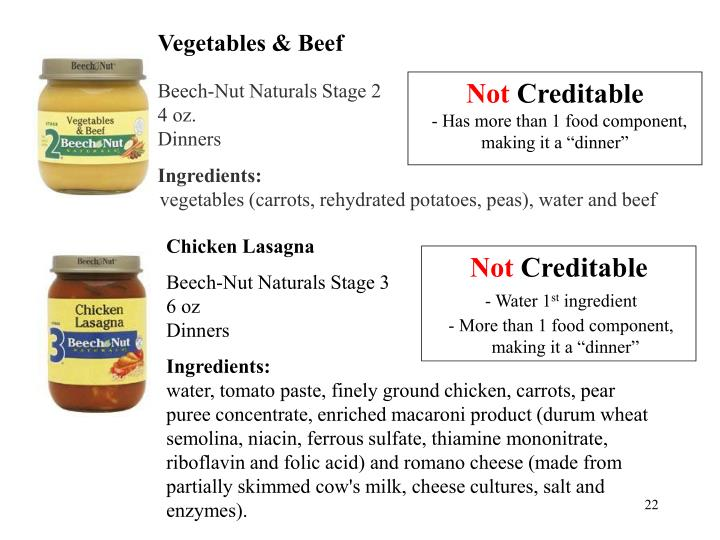 Vegetables & Beef