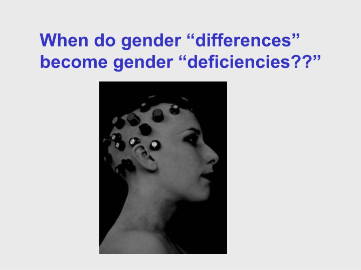 an exploration of the idea of gender in the interpersonal communication arena Communication studies (comm) and exploration of communication in business structures: comm 440 communication and gender (3.