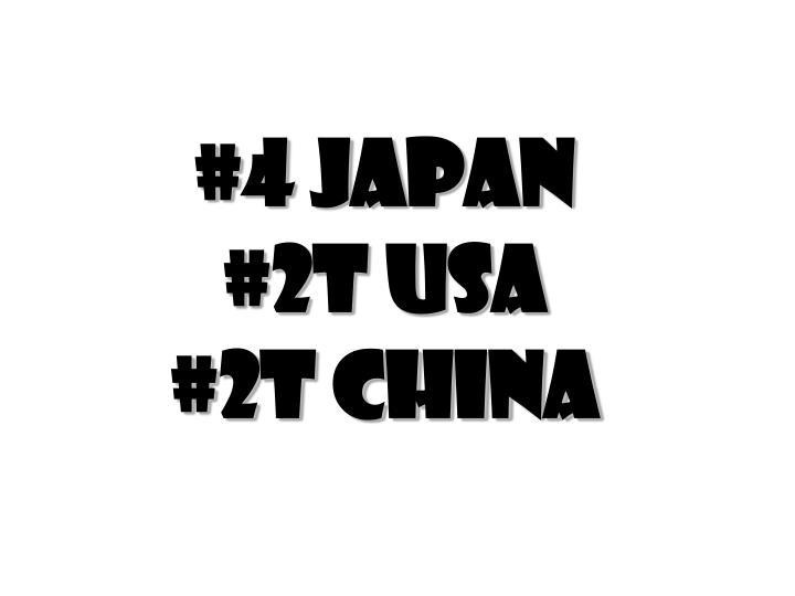 #4 Japan