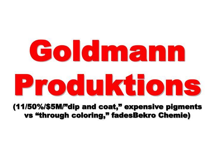 Goldmann Produktions