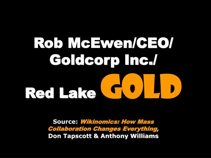 Rob McEwen/