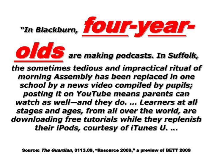 """""""In Blackburn,"""