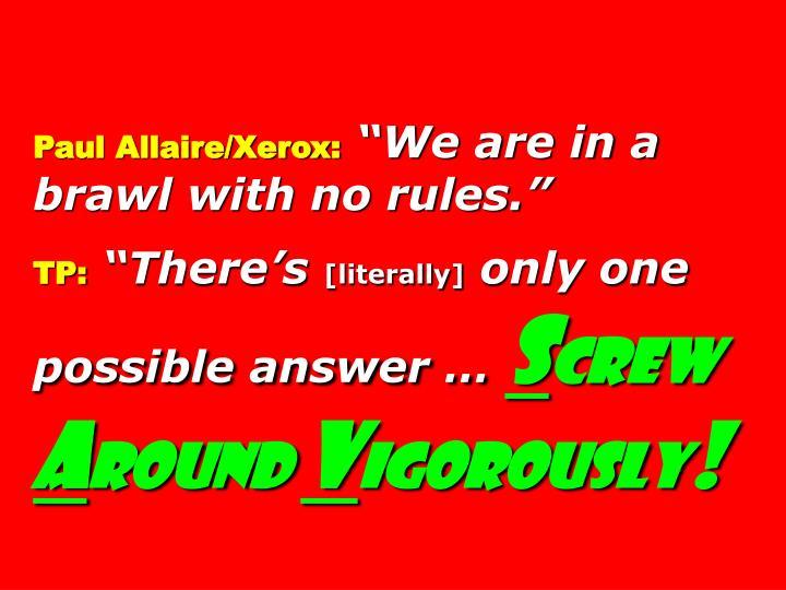 Paul Allaire/Xerox: