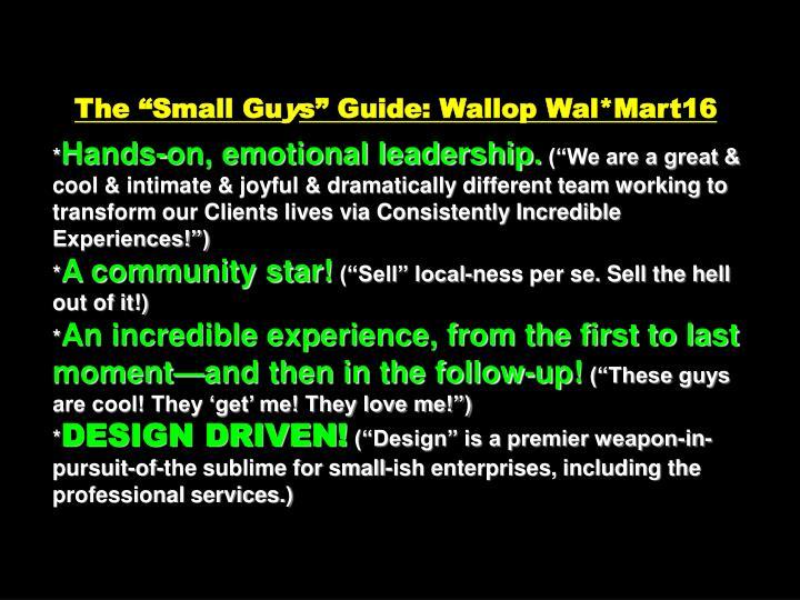 """The """"Small Gu"""