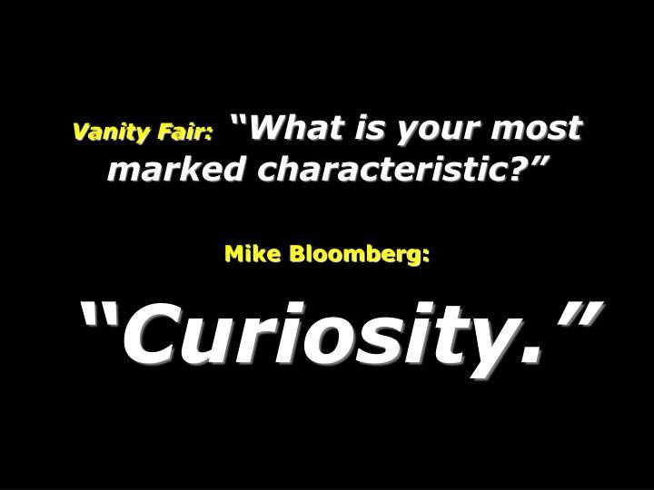 Vanity Fair: