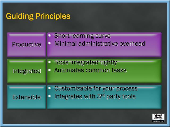 Guiding Principles