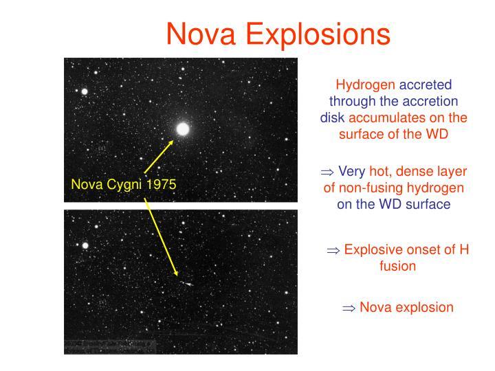 Nova Explosions