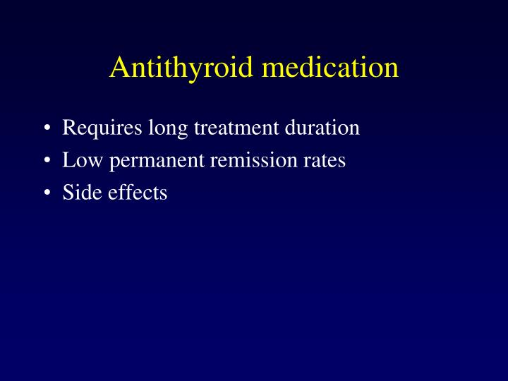 Antithyroid medication