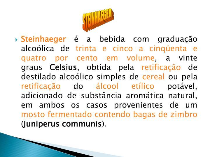 STEINHAEGER
