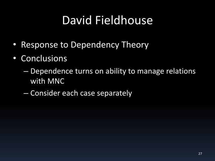 David Fieldhouse