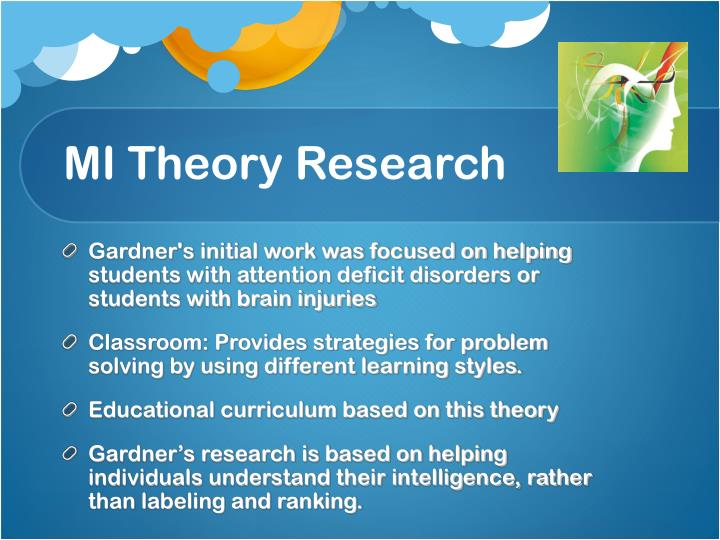 MI Theory Research