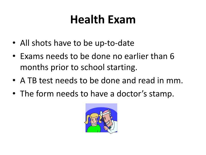 Health Exam