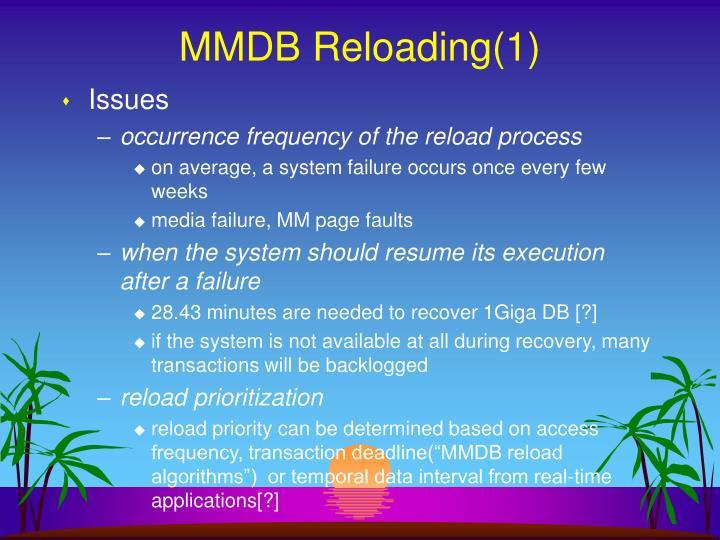 MMDB Reloading(1)