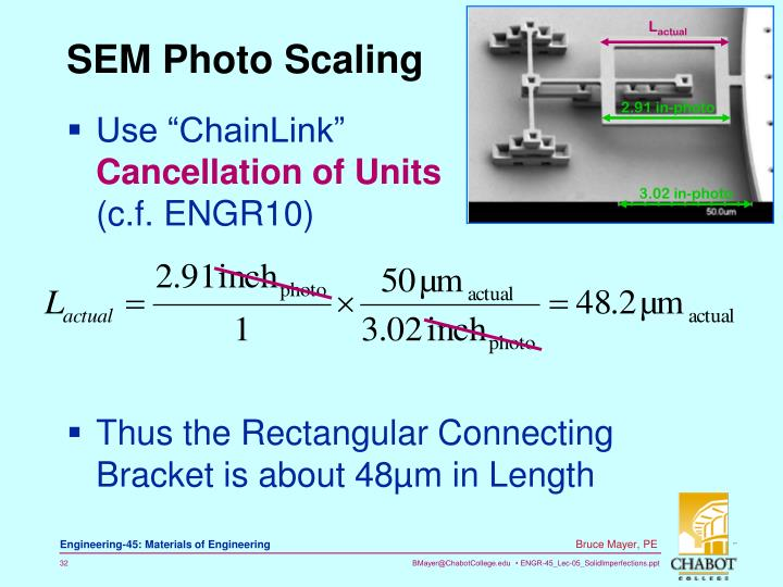 SEM Photo Scaling