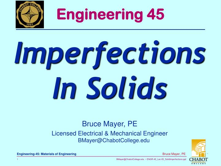 Engineering 45