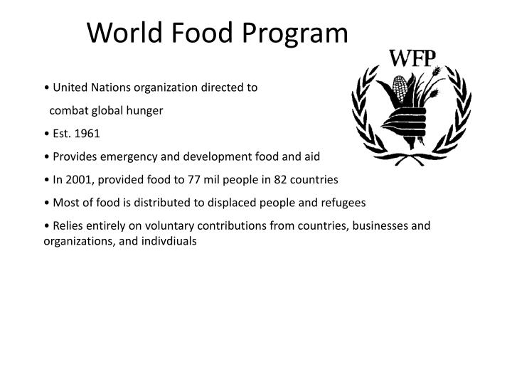 World Food Program