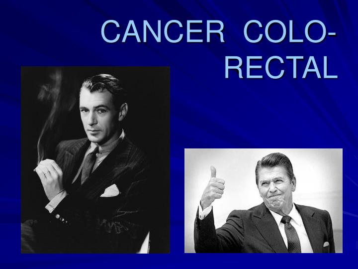 Cancer colo rectal