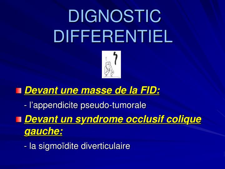 DIGNOSTIC  DIFFERENTIEL