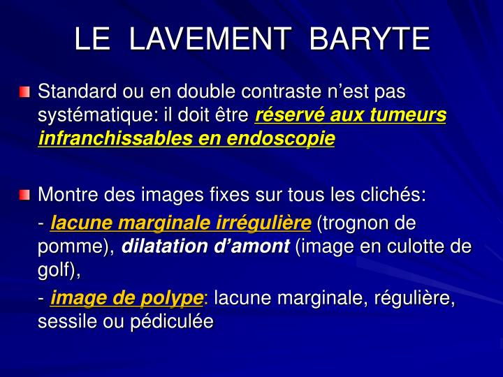 LE  LAVEMENT  BARYTE