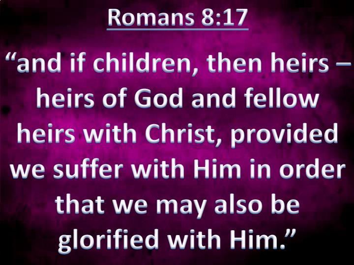Romans 8:17